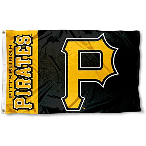 Pittsburgh Pirates Flag 3x5 MLB Banner (Wincraft Pittsburgh Pirates Flag)