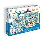 SentoSphere Aquarellum Large - Dolphins - Arts and Crafts Watercolor Paint Set