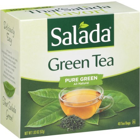 (Salada Pure Green Tea Bags - 40 Count (Pack of 2 - 80 Total Bags))
