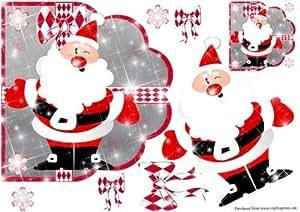 Papá Noel brilla por Karen Wyeth