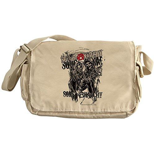 Cafepress   Sons Of Anarchy Reaper   Unique Messenger Bag  Canvas Courier Bag