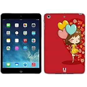 Head Case Designs Balloon Hearts Couple Kiss Soft Gel Back Case Cover for Apple iPad mini with Retina Display iPad mini 3