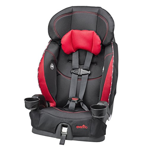 Evenflo Chase Select Harnessed Booster Car Seat, Twist