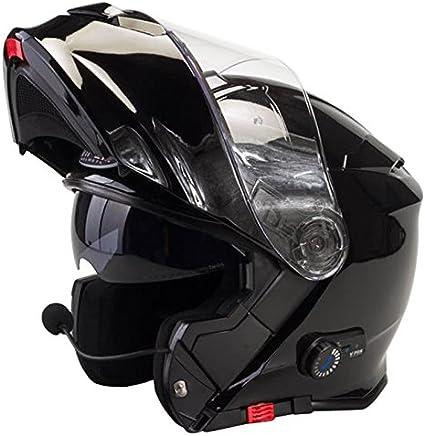 Amazon.es: Viper RS-V171 Bluetooth + 3.0 Casco Moto Modular con ...