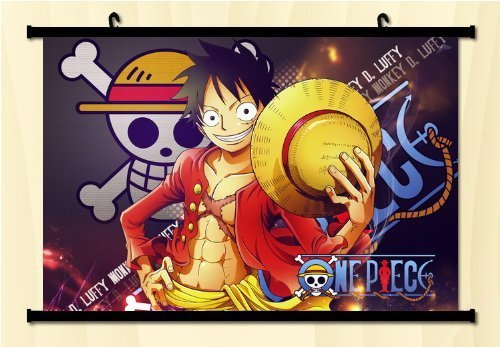 One Piece Fabric Wall Scroll Poster 2416 by Unknown