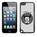 Eason Shop / Hard Slim Snap-On Case Cover Shell - Tunes Wolverine - For Apple iPod Touch 5