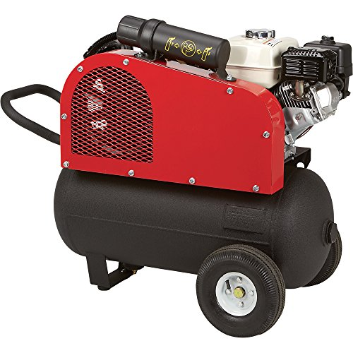 NorthStar easily transportable Gas derived Air Compressor Honda 163cc OHV Engine 20 Gal Horizontal Tank 137 CFM 90 PSI Cheap Price