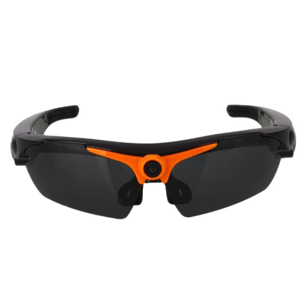 LLZJ Glasses Spy Camera High Definition 1080P Sports Eyewear Mini Hidden Video Recorder Camcorder Sunglasses Biking Travel Fashion