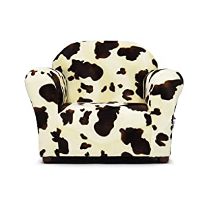Keet Roundy Faux Fur Children's Chair, Pony