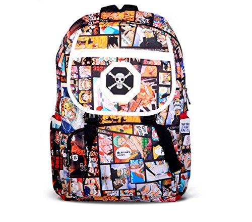 Chopper One Piece Costume (YOYOSHome One Piece Anime Luffy Chopper Zoro Cosplay Bookbag Backpack School Bag)