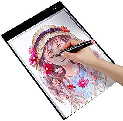 Pebegain UK Mesa De Luz Dibujo Ultrafino Portátil Ajuste De Brillo ...