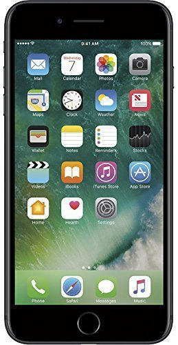 Apple iPhone 7 Plus, AT&T, 128GB - Black (Renewed)