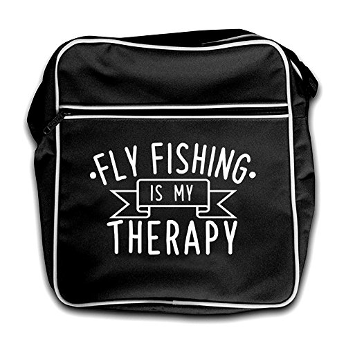 Black Flyfishing Flyfishing Retro Therapy My Is Red Flight Is Bag ZzqFwU