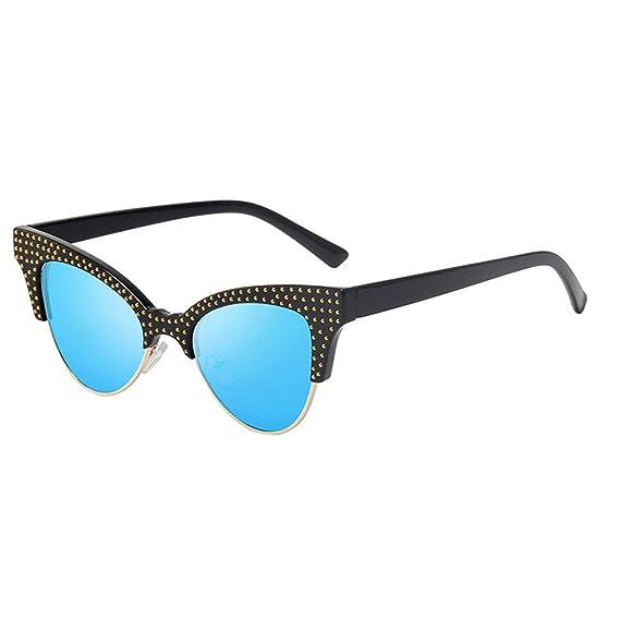 Gafas de Sol para Mujer Lujo Retro Clásico Gafas de marco ...