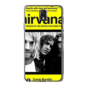Perfect Hard Cell-phone Case For Samsung Galaxy Note3 With Allow Personal Design High Resolution Nirvana Pictures AnnaDubois