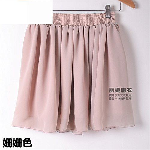 Eault Elegant Summer Skirts Sexy Mini Pleated Skirt Solid Color High Waist Stretch Cute Chiffon Skirts Womens Drop Shipping 05One - Shopping Yoox