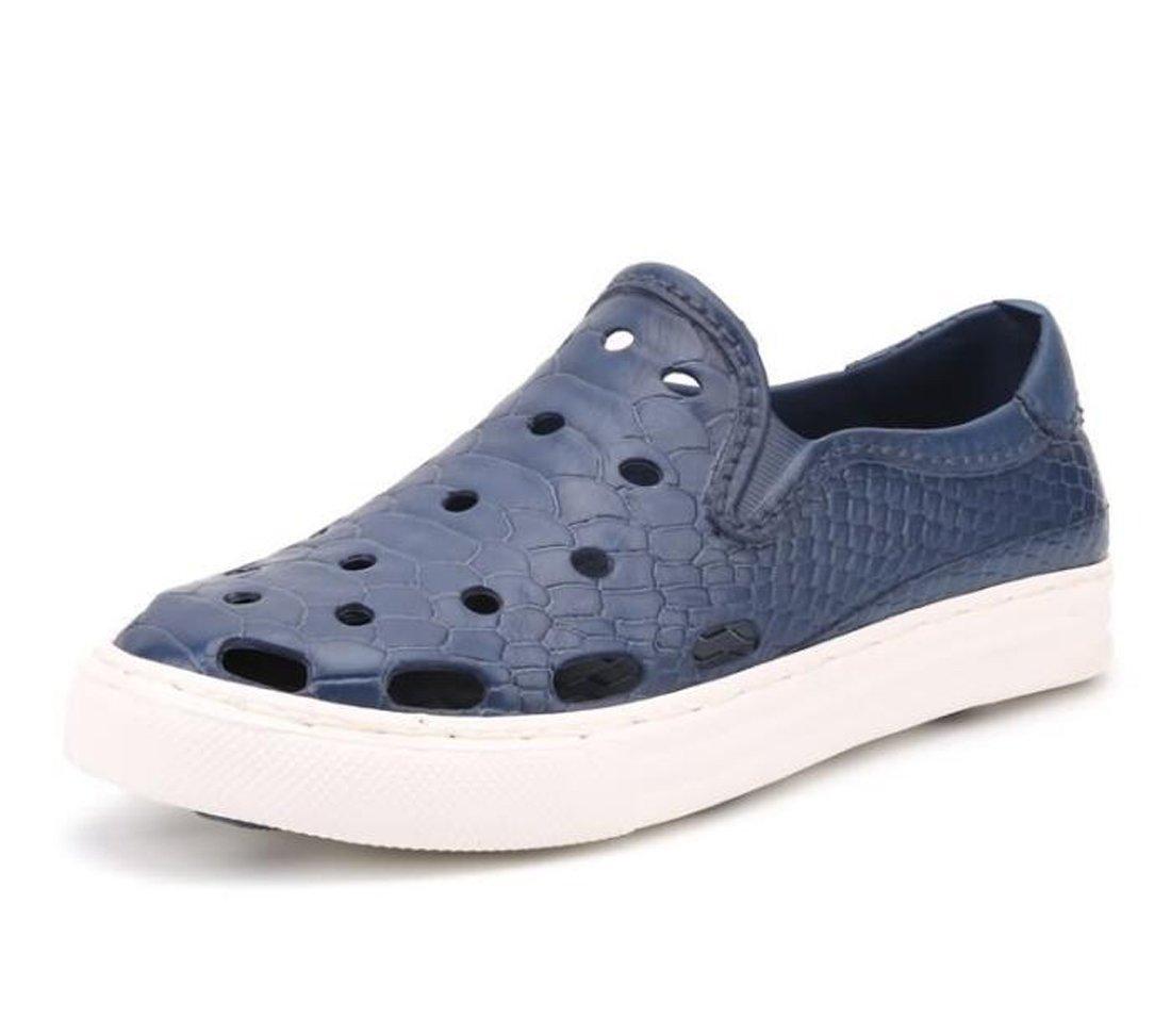 Axido Crocs al Aire Libre Hombres de la Punta del pie Zapatos de Deporte Mujer Slip-on Garden Beach Casual ventilar c/ómodos Zapatos Plegables 40-45 Color : Azul, tama/ño : 40