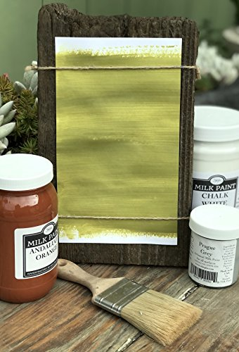 Paint Milk Green (Sinopia All Natural Artisanal Milk Paint Kotinos Green (4oz.))