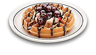 Waring Pro Waffle Maker with Deep 1-Inch Belgian Waffle Grids and Rotary Browning Control Knob, Blue LED Indicator Lights, Removable Drip Tray, Bonus FREE Measuring Cup Included, Stainless Steel/Black Design
