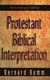 Protestant Biblical Interpretation: A Textbook of