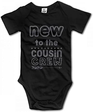 New to The Cousin Crew Baby Jumpsuit Infant Boy Girl Clothes Cotton Romper Bodysuit Onesies