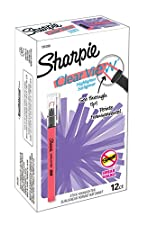 Sharpie Clear View Highlighter Stick 2c Chisel Tip 2c Fluorescent Coral