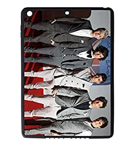 iPad Air Rubber Silicone Case - One Direction Harry Louis Liam Zayn
