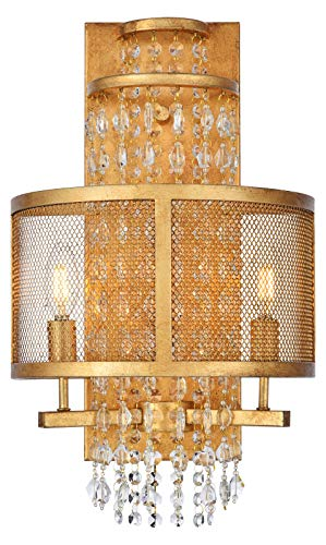 Legacy 2 Light Sconce - Legacy 2-Light Wall Sconce in Golden Iron