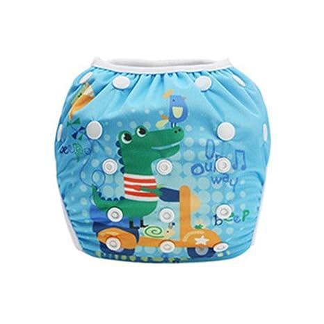 verstellbar M Tmacok Baby Badehose Bedruckt für Schwimmbecken auslaufsicher Stoff 1