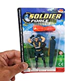 Soldier Force Parachute Soldier Toy for Great for