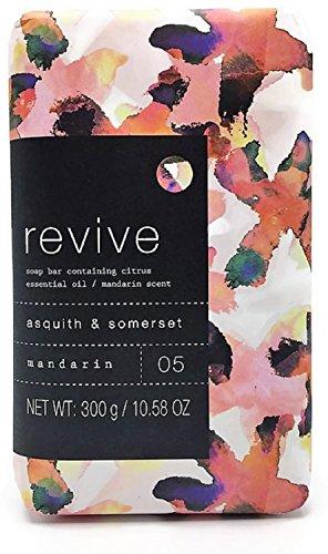Asquith & Somerset Revive Mandarin Moisturizing Soap Bar 10.58 (Mandarin Moisturizing Cleanser)