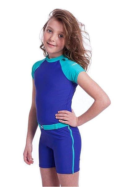 Amazon.com: hopalo Fleur Surfer Girl Surf Traje de baño ...