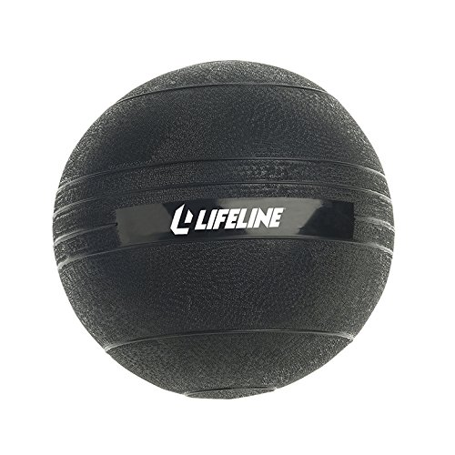 Cheap Lifeline Non Bounce Med Slam Ball, 30 lb