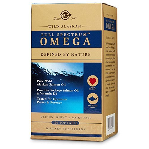Solgar – Wild Alaskan Full Spectrum Omega, 120 Softgels