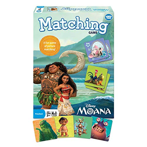 Wonder Forge Disney Moana Matching Game for Boys & Girls Age 3 to 5 - A Fun & Fast Disney Memory Game