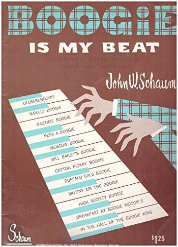 Boogie Woogie Sheet Music Piano - Boogie Is My Beat, a Collection of Rhythmic Piano Solos