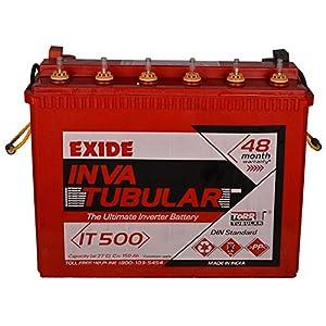 Exide Technologies Inva Tubular Battery 150Ah/12V (Red)