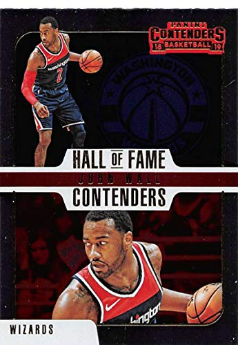 Amazon.com  2018-19 Panini Contenders Hall of Fame Contenders Basketball  14  John Wall Washington Wizards Official NBA Trading Card by Panini   Collectibles ... e72dfb158