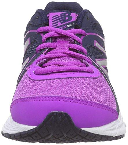W390v2 Laufschuhe Navy New Pink Pink Balance Damen Pxtww1Ea