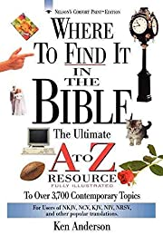 Where to Find It in the Bible(Paperback) -…
