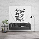 Society6 Wall Tapestry, Size Large: 88'' x 104'', 1 Peter 4:8 Above All Else Love Each Other Deeply,Bible Verse,Christian Print,Scripture Art,Love by alextypography