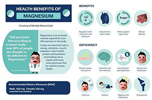Mejoras Sales Epsom Puras - Magnesio Natural 49% - bolsa 6 kg ○ Eliminar las toxinas y metales pesados: Amazon.es: Belleza