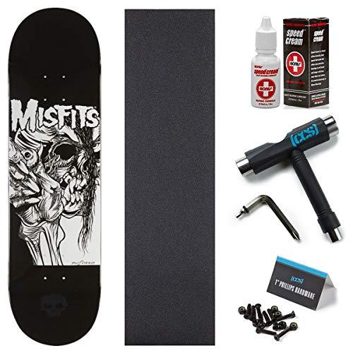 Zero x Misfits Evil Eye Skateboard Deck - 8.50