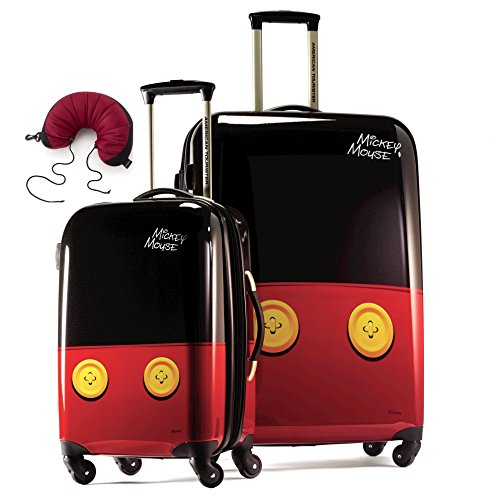 american-tourister-disney-hardside-spinner-2-piece-set-28-and-21-plus-samsonite-travel-pillow-one-si