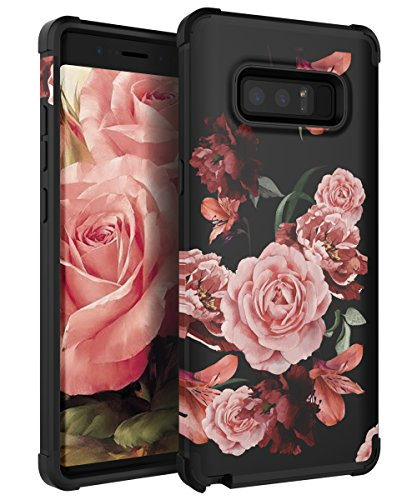 reputable site 5e143 5b8c2 KapCase Samsung Galaxy Note 8 Case Cute Flower for Girls/Women Slim Fit  Dual Layer Protection TPU and Plastic Hybrid Floral Case for Samsung Galaxy  ...