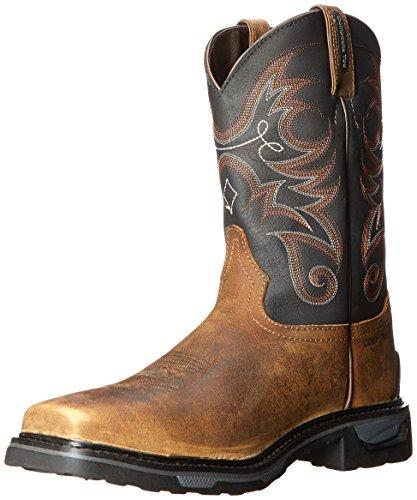 Tony Lama Work Boots Mens Tacoma Sq Composite Toe Walnut TW4