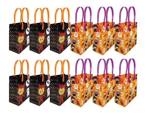 Halloween Party Favor Bags Treat Bags, 12 -