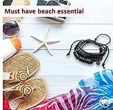 Shark Off Shark Repellent Bracelet Surfwear Jewelry | The Bimini – Repel Sharks with Patented Alloy Shark Repellent on Adjustable Leather Bracelet – Not Magnetic, Won't Damage Sensitive