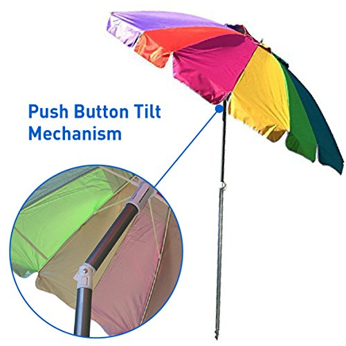 Buy beach umbrella for wind conditions