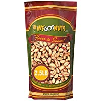 Turkish Pistachios Antep Roasted Salted , In Shell - We Got Nuts 2.5 lb